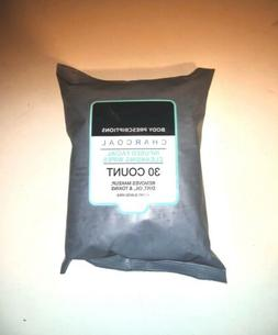 Body Precriptions Charcoal Cleansing Facial Wipes Cruelty Fr