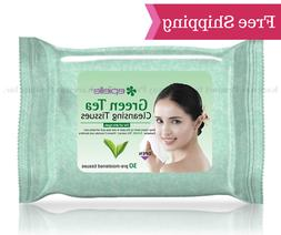 epielle® Green Tea Makeup Remover, Facial Cleansing Tissues