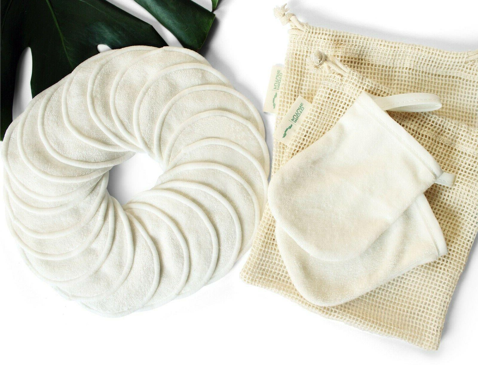 Reusable - 20 Pads, 2 Gloves & 2