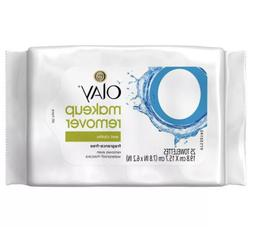 Olay Makeup Remover Cleansing Towelettes/Wipes - 25 ct pack-